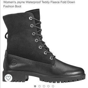 Timberland Jayne Waterproof Fleece fold suede boot